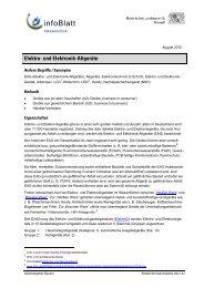 Elektro- und Elektronik-Altgeräte - Abfallratgeber Bayern