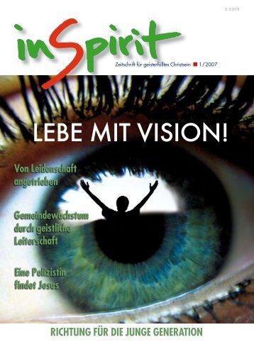 LEBE MIT VISION! - inSpirit