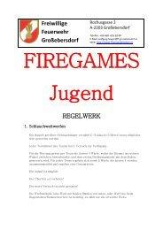 JUGEND - Firegames - Regelwerk - Web & Grafikdesign Gruber