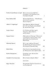 INHALT Norbert Gratzl/Hannes Leitgeb Was ist ... - Academia Verlag