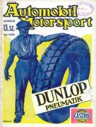 Automobil motorsport 1928 3. évfolyam 13. szám - EPA