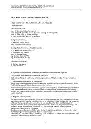 Protokoll der Sitzung des Preisgerichts vom 26.02.2010