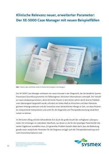 als PDF Datei herunter. - Sysmex Deutschland GmbH
