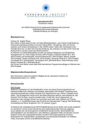 Vollversion - Hornemann Institut