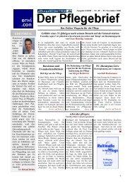 Ausgabe 6/2000 - Pflegen-online.de