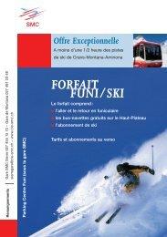 FORFAIT FUNI/SKI - Compagnie de chemin de fer et d'autobus ...