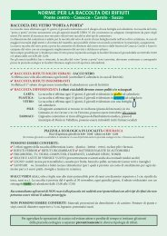raccolta rsu 2013 - Comune di Ponte in Valtellina