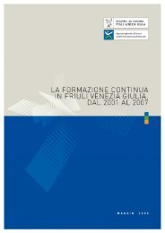 formazione continua - Regione Autonoma Friuli Venezia Giulia