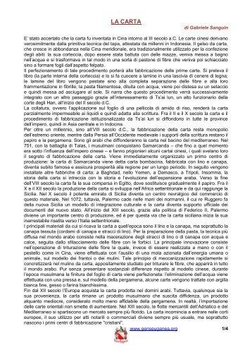 La Carta - Gens Euganea