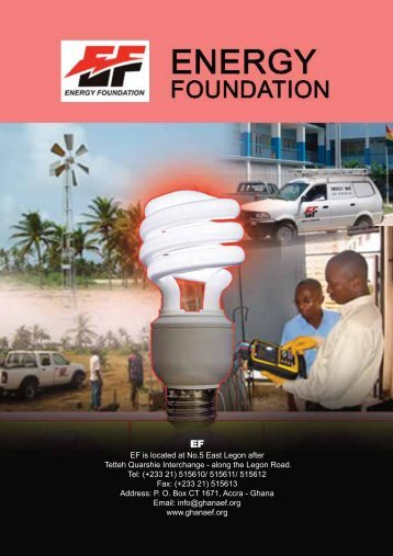 EF is located at No.5 East Legon after Tetteh Quarshie Interchange ...