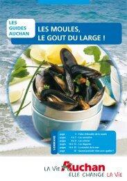 LES MOULES, LE GOUT DU LARGE ! - Auchan
