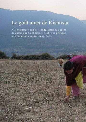 Le goût amer de Kishtwar - Paul SURAND, Photographe
