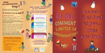 Le sel : comment limiter sa consommation - Inpes