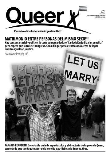 matrimonio entre personas del mismo sexo!!! - 2-minds.com.ar