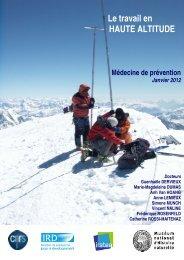 LE TRAVAIL EN HAUTE ALTITUDE - Accueil - CNRS