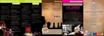 soirée plaisir et gastronomie - Union des oenologues de France