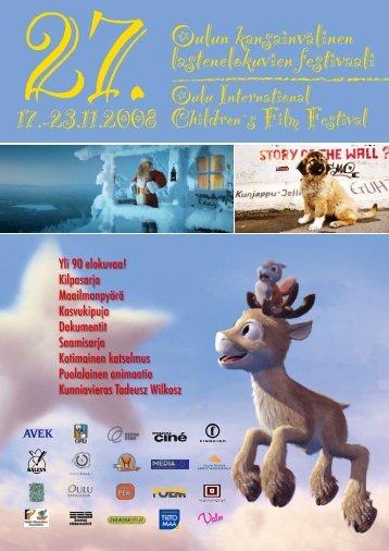 Festivaalin käsiohjelma | festival brochure 2008 - Oulun ...