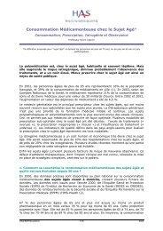 PMSA_synth biblio - Haute Autorité de Santé