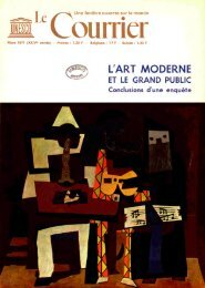 L'Art moderne et le grand public; The Unesco ... - unesdoc - Unesco