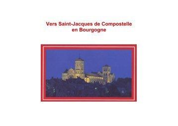 Vers Saint-Jacques de Compostelle en Bourgogne - Jakobus-Info.de