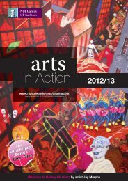 Arts in Action Brochure 2012/13 - National University of Ireland ...