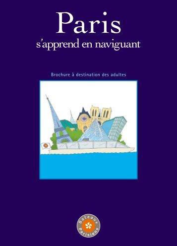 s'apprend en naviguant - Bateaux Parisiens