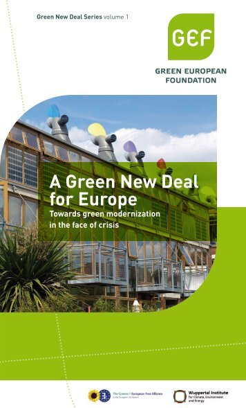 A Green New Deal for Europe - The Greens | European Free Alliance
