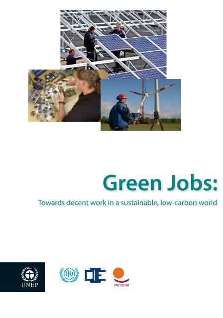Green Jobs: - International Labour Organization