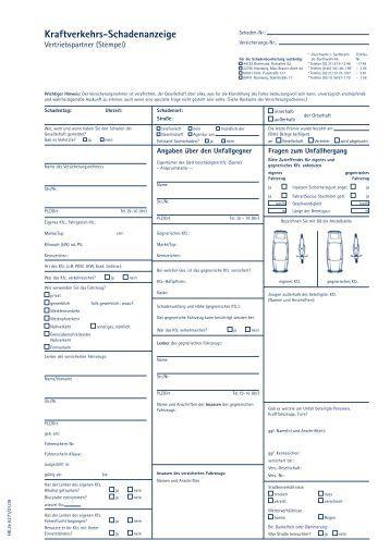 KFZ-Schadenformular (Haftpflicht und Kasko) - legowie.de