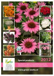 Catalogus Special Products (pdf) - Green Works