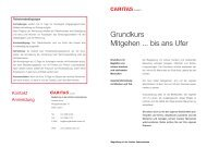 Grundkurs Bill_2010.indd - Caritas Luzern