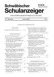 Januar 2004 - Regierung von Schwaben - Bayern