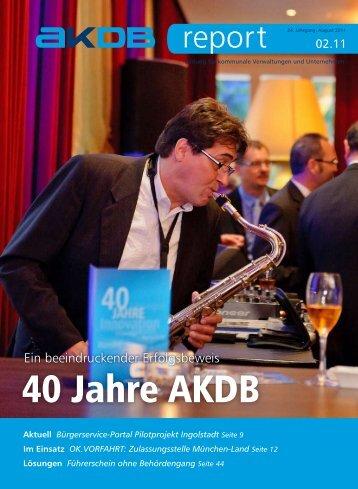40 Jahre AKDB