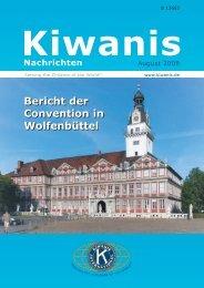 Kiwanis Nachrichten 02/08 - Kiwanis Deutschland