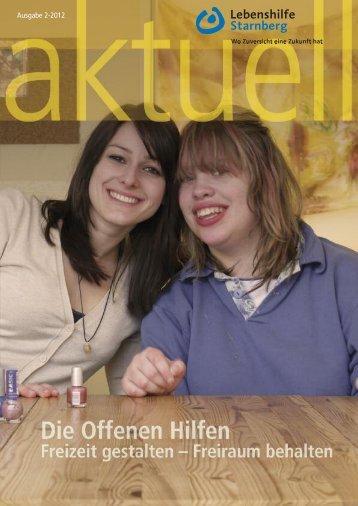 Ausgabe 2-2012 - Lebenshilfe Starnberg
