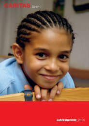 Jahresbericht 2005 - Caritas Zürich