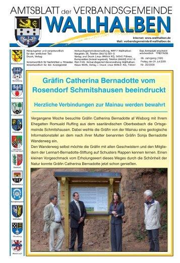 Gräfin Catherina Bernadotte vom Rosendorf Schmitshausen ...