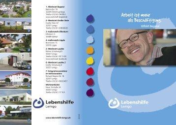 Werkstatt Begatal - Lebenshilfe Lemgo e.V.