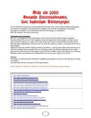 Deutsche Internetadressen - eBooks und Software SaarPfalz24