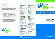 Aktion Werkstatt für behinderte Menschen - WfB-net.de