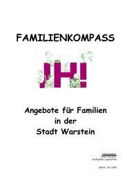 FAMILIENKOMPASS Angebote für Familien in der Stadt Warstein
