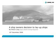 A ship owners decision to lay-up ships - Skibsteknisk Selskab
