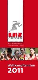 Veranstaltungs-Flyer 2011 - LAZ Giessen Stadt und Land