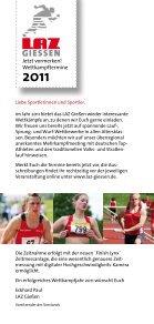 Veranstaltungs-Flyer 2011 - LAZ Giessen Stadt und Land - Seite 2