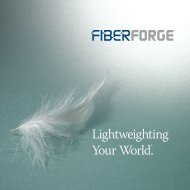 Lightweighting Your World.® - Fiberforge