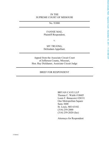 brief for petitioner and brief for respondent Dusenbery v usa - reply brief for petitioner no 00-6567 in the supreme court of the united states larry dean dusenbery, petitioner, v united states of america, respondent on writ of certiorari to the united states court of appeals for the sixth circuit reply brief for petitioner allison m zieve counsel of record.