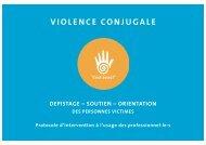 VIOLENCE CONJUGALE - DEPISTAGE - Centre LAVI Genève