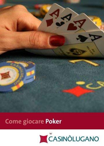 Come giocare Poker - Casinò Lugano