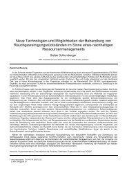 FLUREC: Neue Technolgien und Möglichkeiten der Behandlung von