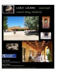 LAZY LIZARD ranch resort - Shadian